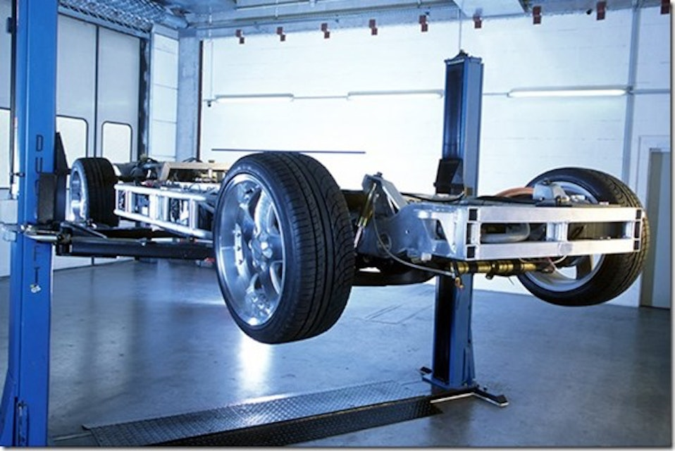 Creating The Chassis Of Tomorrow Automotive Design Production
