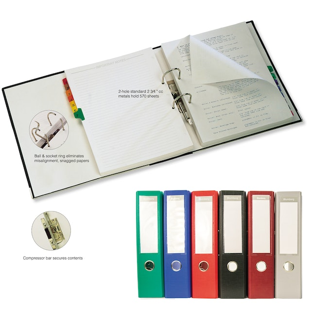 lever arch 2 ring european style binders